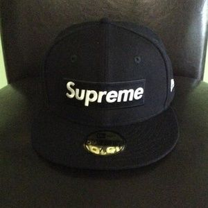 Supreme New Era Playboy 7 1/4 Fitted Hat Navy